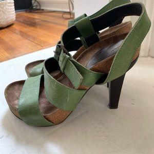 Balenciaga Paris leather heels